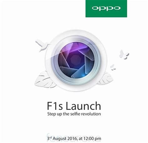 oppo f1s is coming on august 3 invites sent