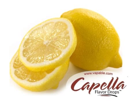 Sale Capella 1oz Yellow Cake Flavor Concentrate capella lemon concentrate provides the refreshing
