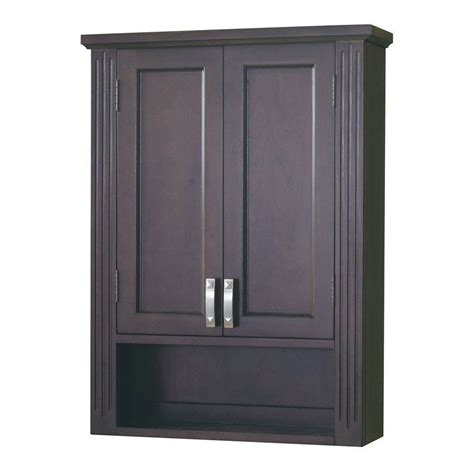 wall linen cabinet bathroom allen roth 90341 kingsway brazilnut bathroom wall