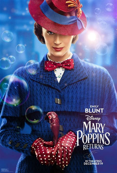 Mary Poppins Returns (2018) Poster #1 - Trailer Addict Colin Firth Wikipedia