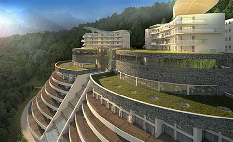 Design Concept Gangtok | sikkim butterfly hotel casino international design group
