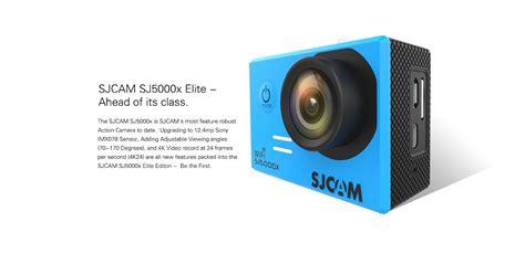 Sjcam Sj5000x sjcam sj5000x elite et sj5000x limited edition capteur sony imx078 gyro et 4k