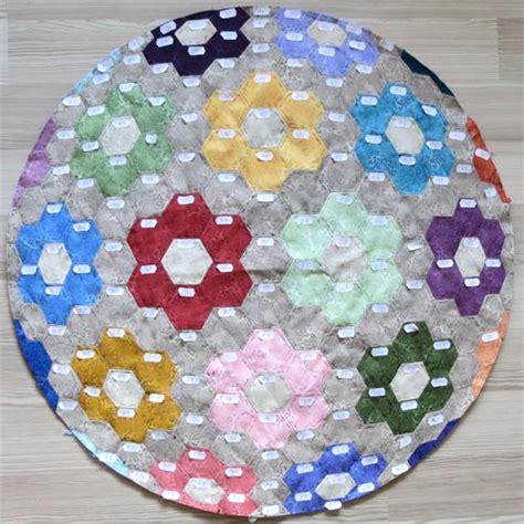 grandmothers flower garden quilt pattern modern grandmothers flower garden quilt pattern