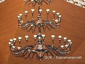 Lu Gantung Klasik terangnya rezeki usaha lu gantung bahan metal