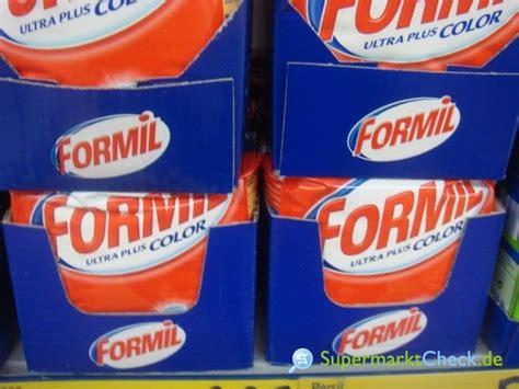 Formil Waschmittel Hersteller 5980 by Formil Ultra Plus Color 2 025 Kg Infos Angebote Preise