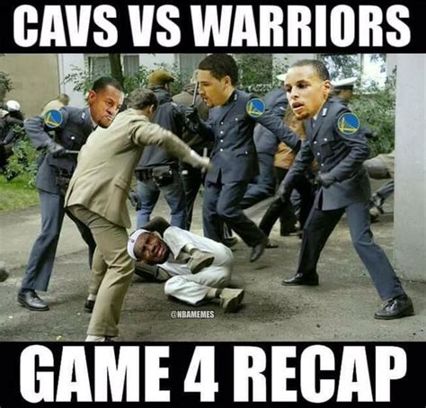 Warriors Memes - game 4 recap warriors vs cavs http nbafunnymeme com