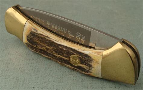 solingen folding knives solingen germany stag grip large folding knife tree bra