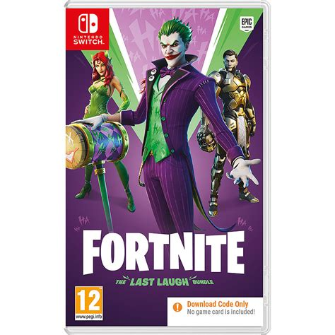 buy fortnite   laugh bundle  switch game