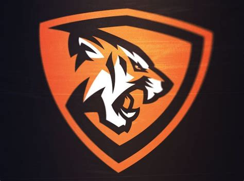 tiger pattern logo tigers mascot sports design pinterest tigers logos