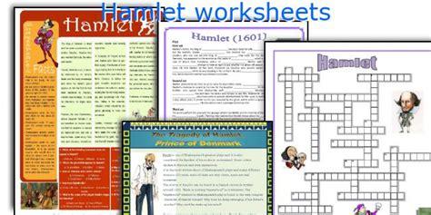 Hamlet Worksheets by Hamlet Worksheets Worksheets For School Getadating
