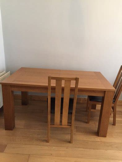 Oak Dining Tables For Sale Solid Oak Dining Room Six Chairs For Sale For Sale In Clondalkin Dublin From Louisebflynn