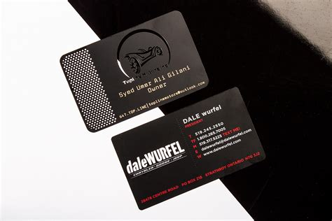 Black Metal Business Cards black metal business cards luxury printing