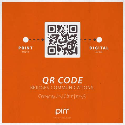 poster design with qr code communications qr code bridges communications pirr