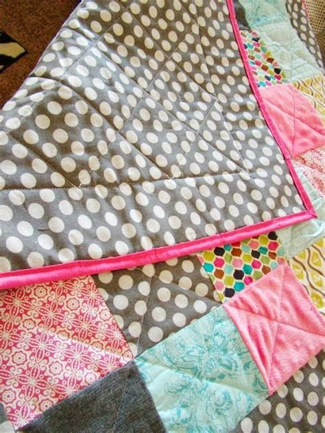 Easy Baby Quilt Tutorial by Baby Blanket Tutorials U Create