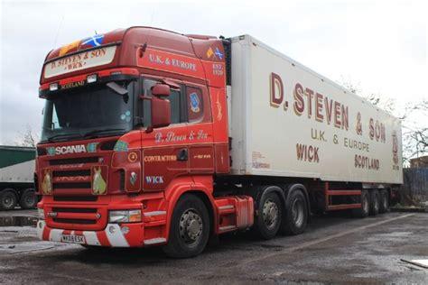 truck photos scania r560 v8 lorry of d steven