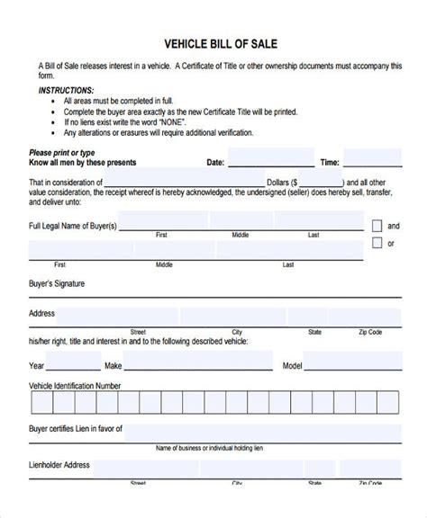 legal boat bill of sale blank bill of sale form blank bill of sale formblank bill
