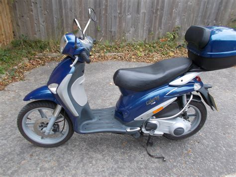piaggio liberty scooter 125cc colour blue
