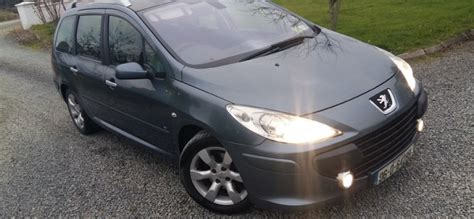 2006 peugeot 307 16hdi 7 seater nct 717 tax 0217 for sale