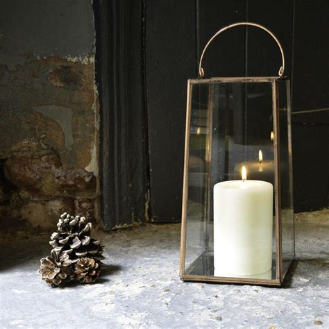 lantern style table ls buy copper mirrored lantern the worm that turned