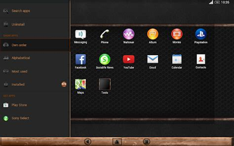 xperia theme creator download black copper theme for xperia android apps on google play