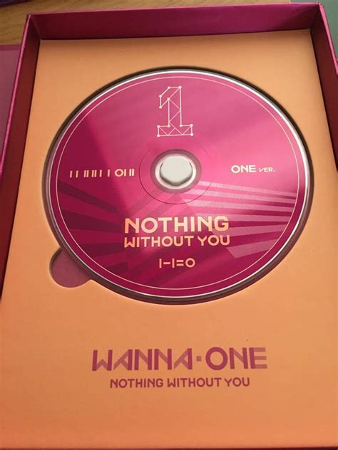 K Pop Wanna One Nothing Without You wanna one nothing without you unboxing review k pop amino