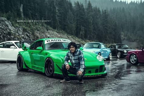 porsche jdm rwb s nakai san builds bespoke wide body porsches in 4
