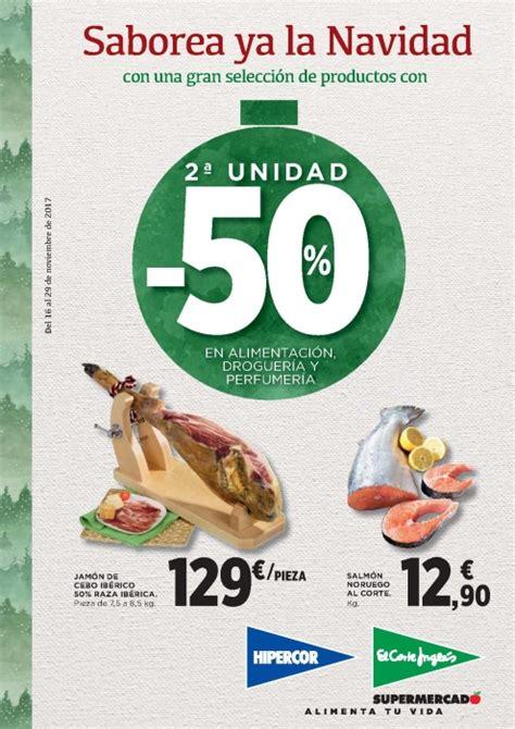 folleto corte ingles folleto supermercado el corte ingl 233 s 2017 precios ofertas