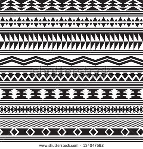 patterns of the black and white keys trible print ja3mine