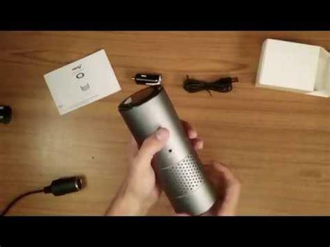creav zephyr car air purifier unboxing