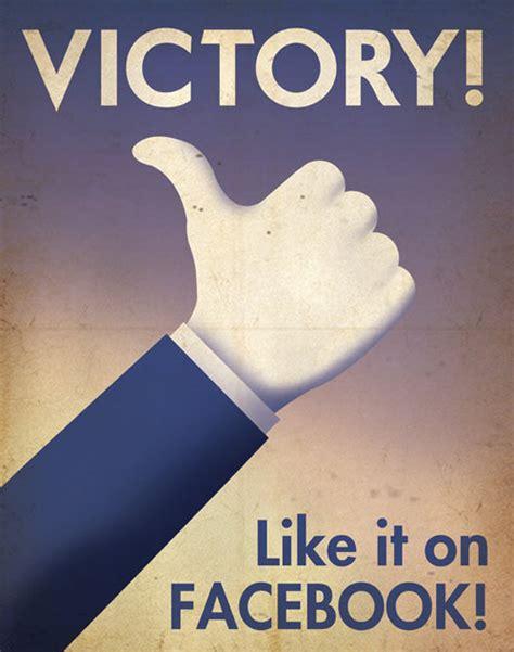 design milk facebook social media propaganda posters by aaron wood design milk