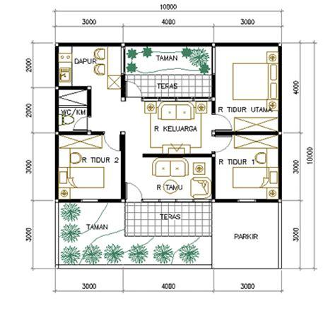 desain rumah minimalis type 70 luas tanah 100 m2 desain rumah sederhana interior minimalis