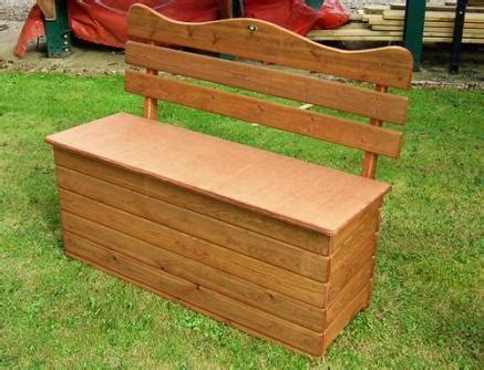 wooden garden storage box seat tony ward furniture