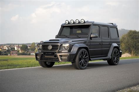 Official Mansory Gronos G63 Amg Black Edition Gtspirit