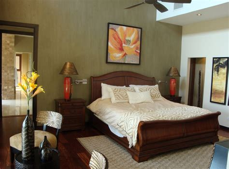tranquil tropical bedroom beautiful homes inside out