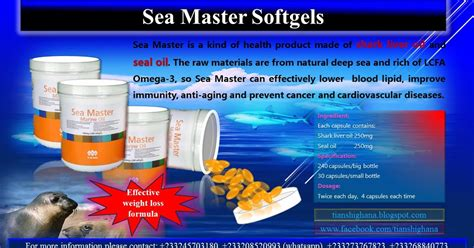 Herbal Slimming Tea Sea Quill Tianshi Tiens Products Business Support Sea Master