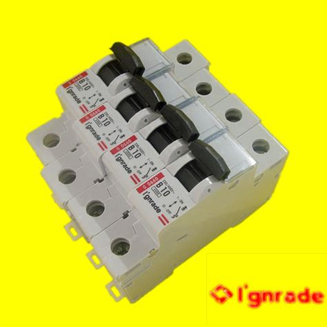 Mcb Hager Mini Circuit Breaker Hager Type Mu 3p 6a 3x6a legrand elcb images