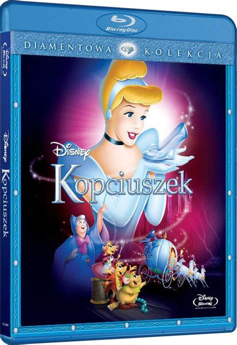 cinderella film blu ray kopciuszek cinderella 1950 film blu ray