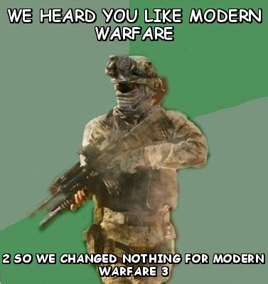 Meme Warfare - call of duty modern warfare 2 memes image memes at