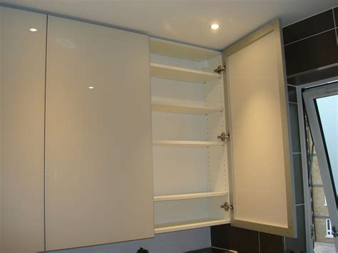 Custom Made Luxury Bathroom Painted Glass Cabinets Bathroom Glass Cabinet