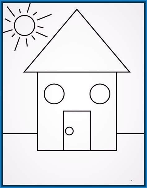 dibujos para colorear con figuras geométricas figuras geometricas para ni 241 os de kinder para imprimir