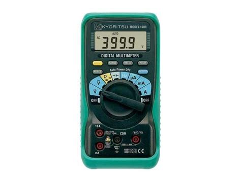 Multimeter Kyoritsu 1009 kyoritsu digital multimeter 1009 multimeters cl