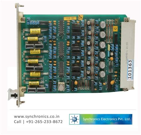 electronic card electronic card gh 480b 21 by abb repair at synchronics