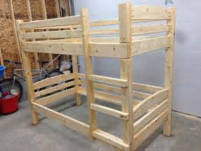 2x4 Bunk Bed Plans Woodwork 2x4 Bunk Bed Plans Pdf Plans