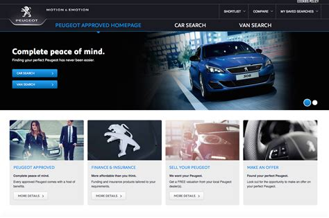 peugeot approved used cars peugeot approved plus approved standard used car scheme