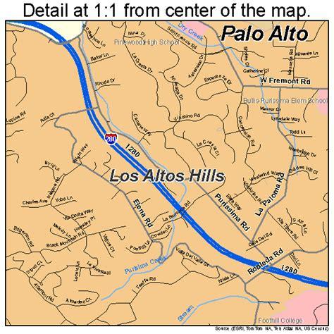 where is palo alto california on a map palo alto california map 0655282