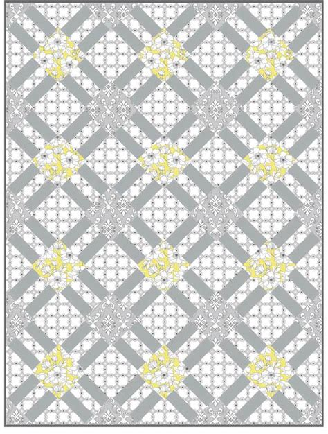 Coverlet Fabric Quilt Inspiration Free Pattern Day Lattice And Woven Quilts