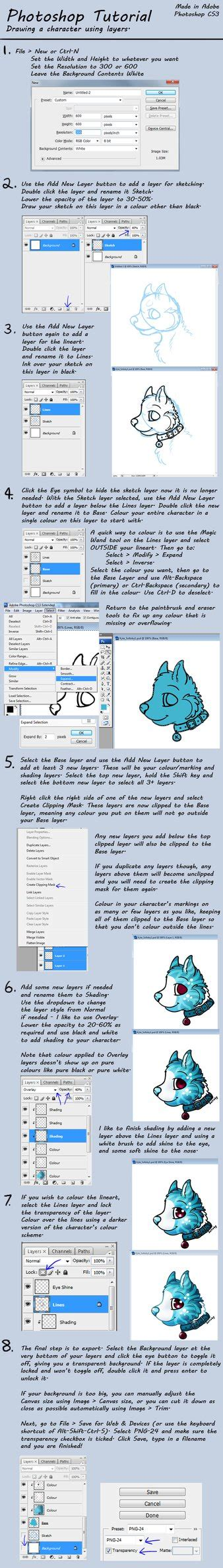 tutorial photoshop layers photoshop tutorial draw a character using layers by