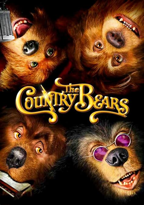 country bears  cast crew