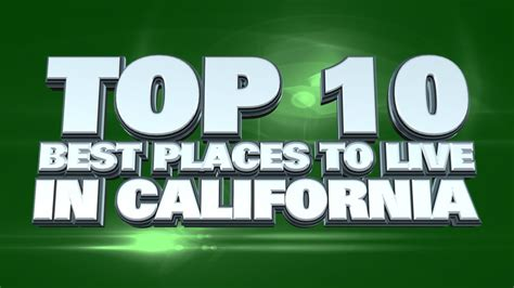 what is the cheapest place to live in the us top 10 best places to live in california 2014 youtube