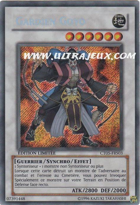 Ultimate Goyo Guardian Tdgs En042 carte yu gi oh gardien goyo ct05 frs03